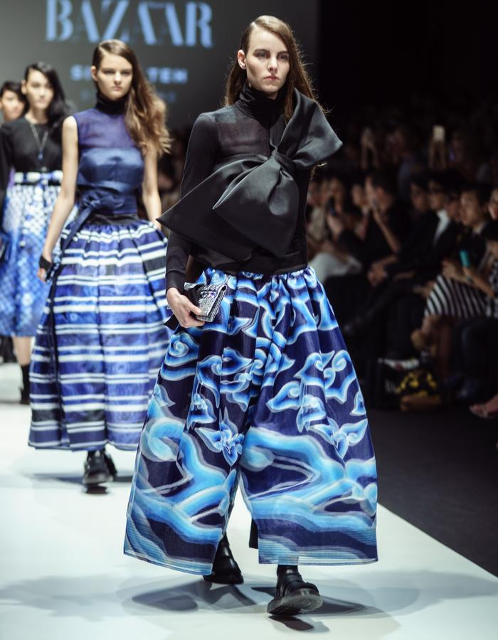 Japanese meets Javanese collection by Silvia Teh