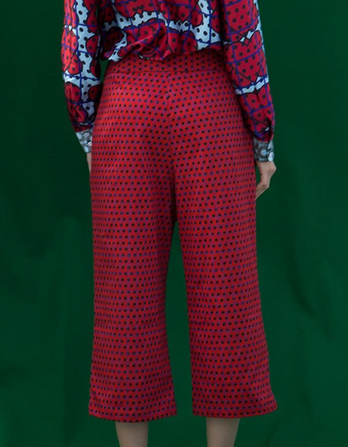 cotton trousers-RedFactory