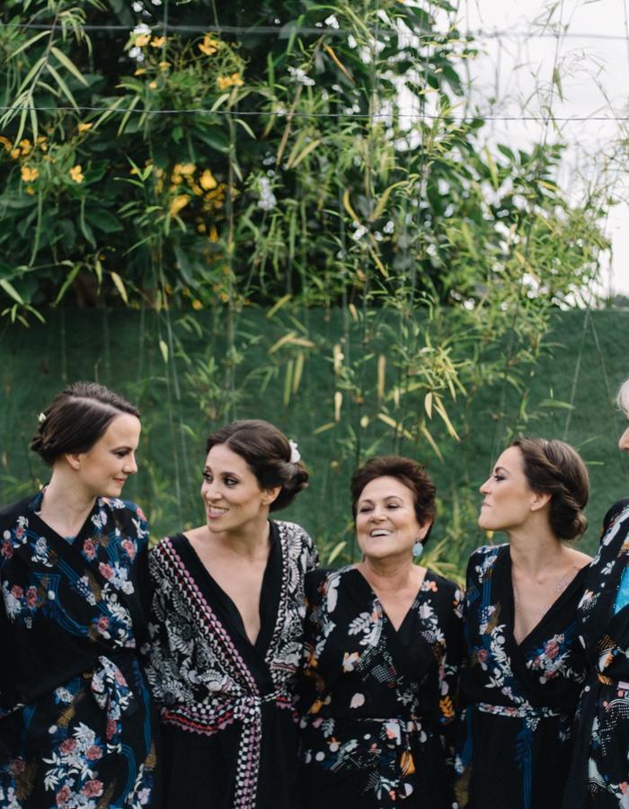 Holland Street silk Bridal kimonos