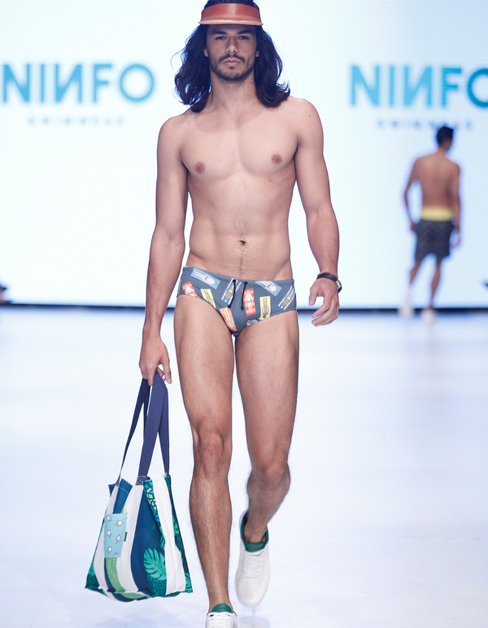 PoolParty Bathing Suit on the runway during MBFWSJ 2017