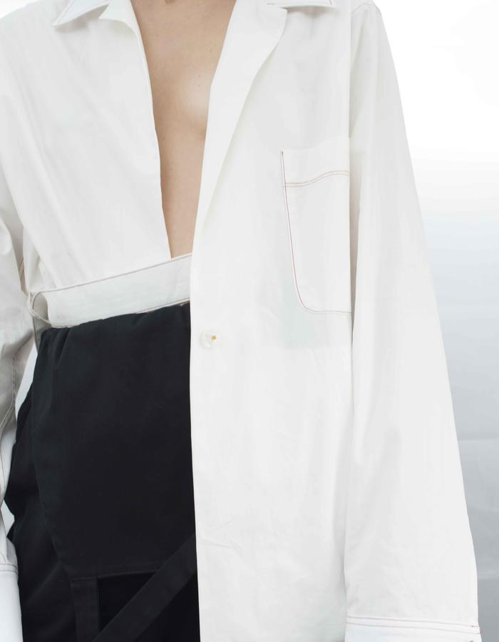 oulon Poplin Shirtjacket