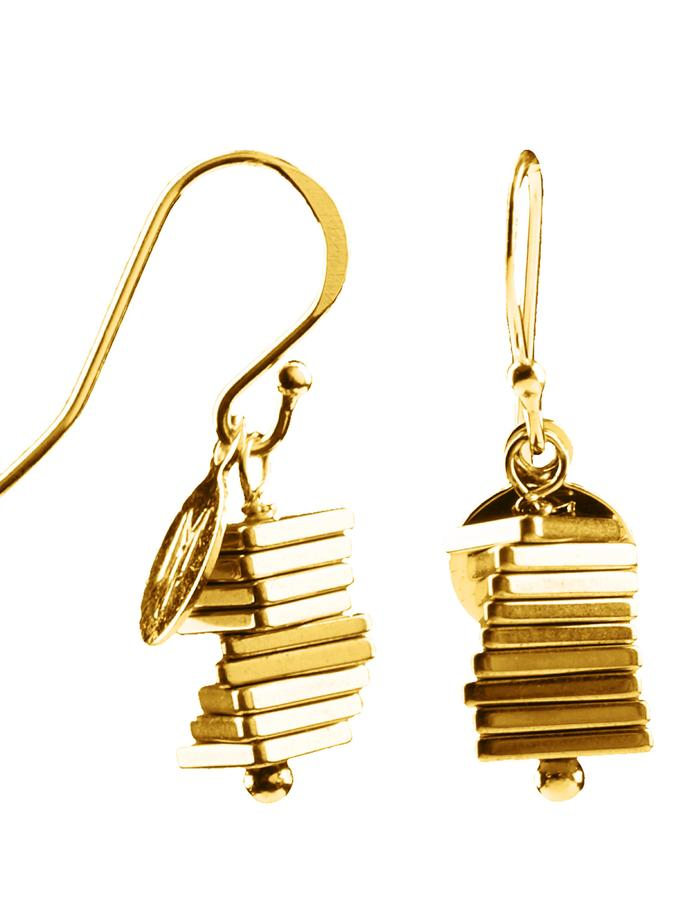 Electric Kinetic Gold Earrings (9)