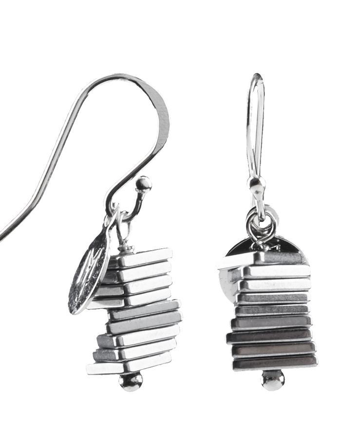Electric Kinetic Silver Earrings (9)