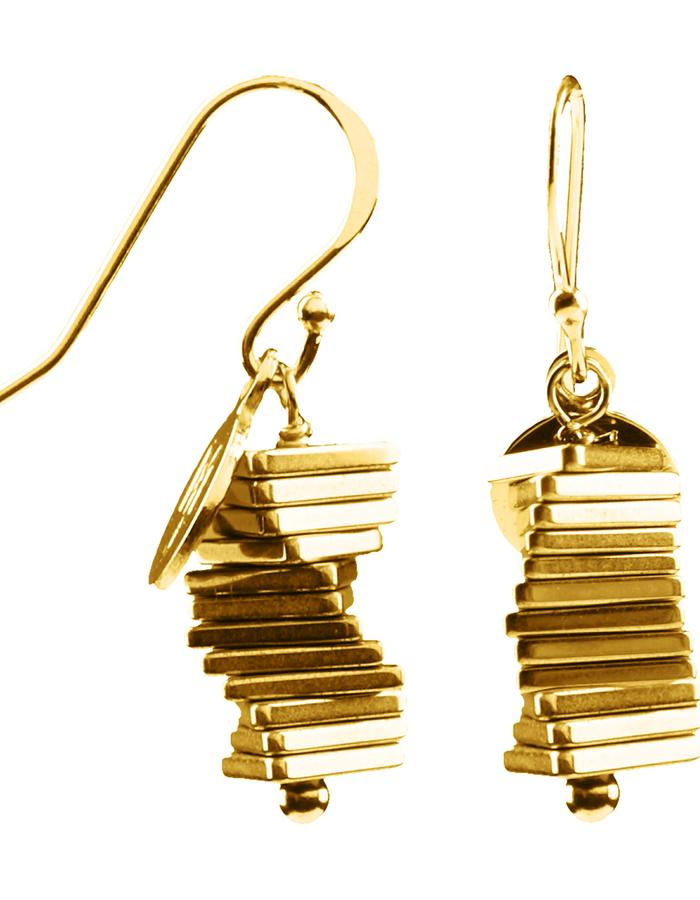 Electric Kinetic Gold Earrings (12)