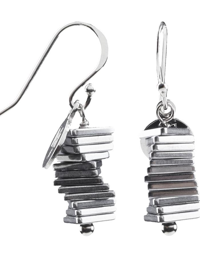 Electric Kinetic Silver Earrings (12)