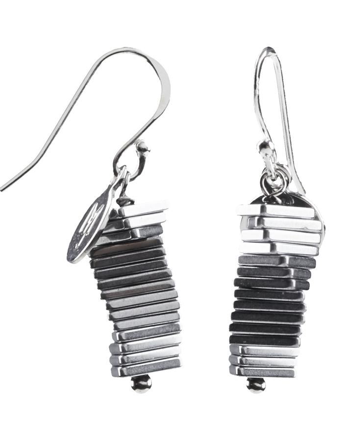 Electric Kinetic Silver Earrings (15)