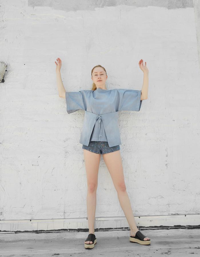 LYKKE kimono and AGNI short