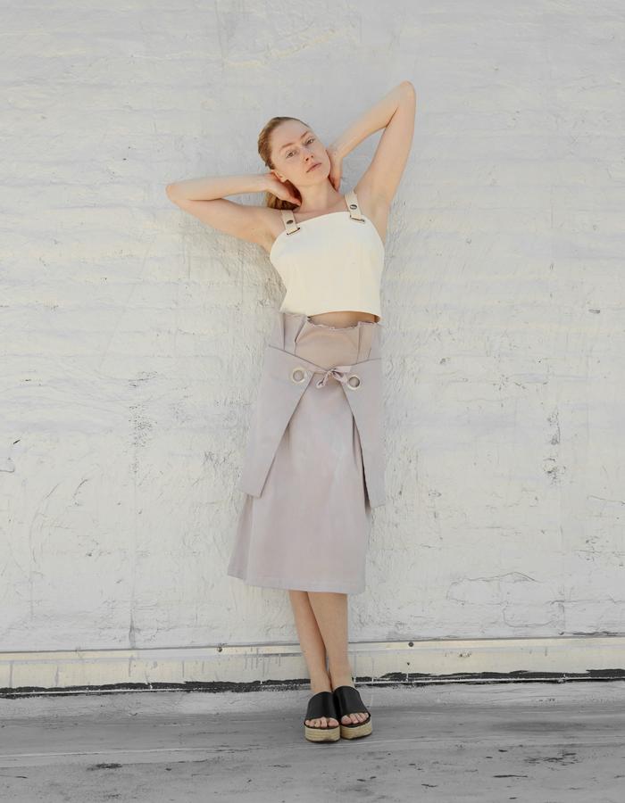 ODA top and ADAH skirt