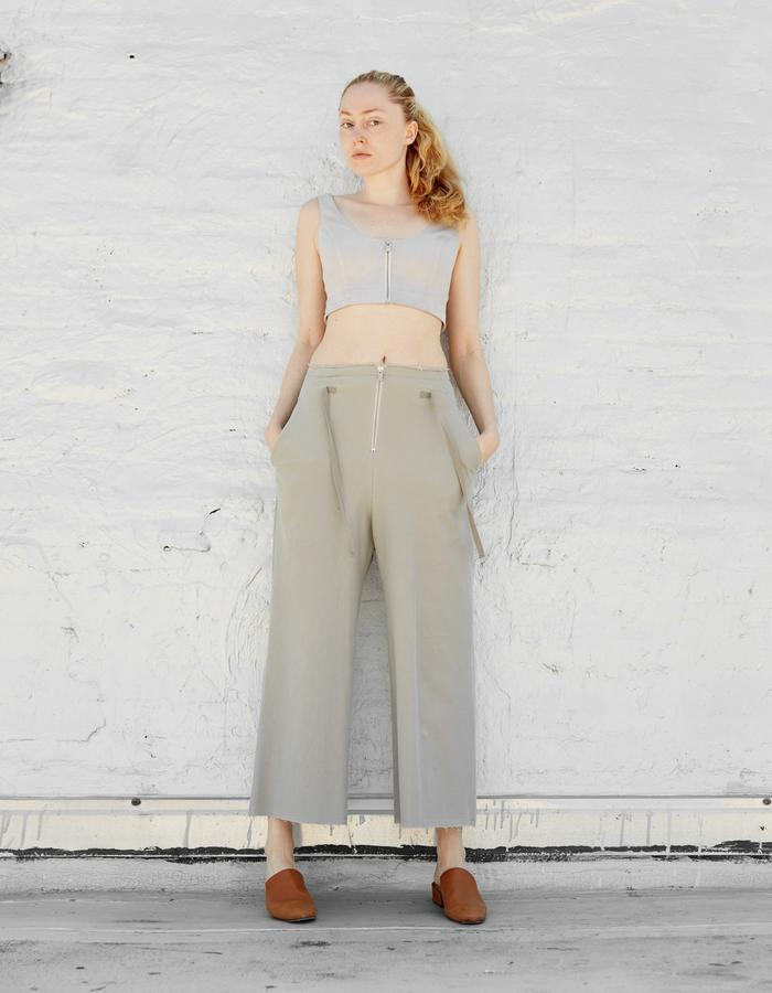 MILO bustier and FRIDA culottes