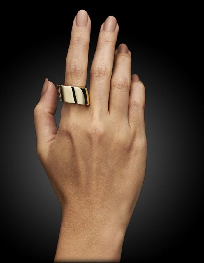 Two of Most Fine Jewelry - Large Square Ring