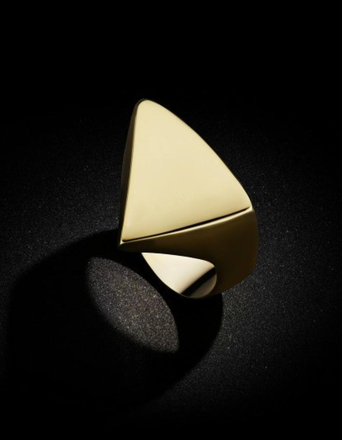 Two of Most Fine Jewelry - Asymmetric Triangle Ring