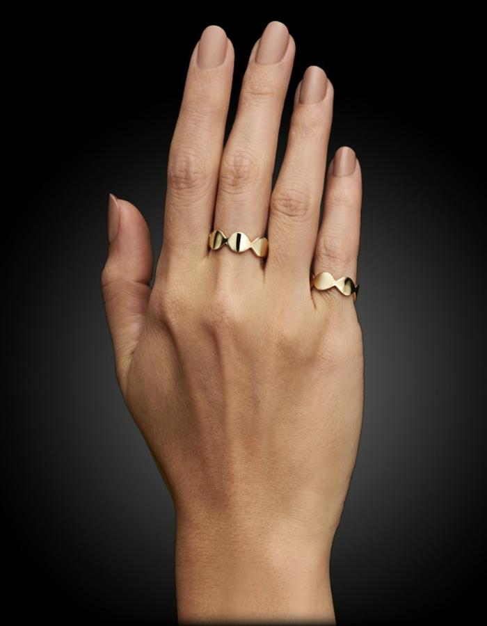 Two of Most Fine Jewelry - Closed Loop Ring Set