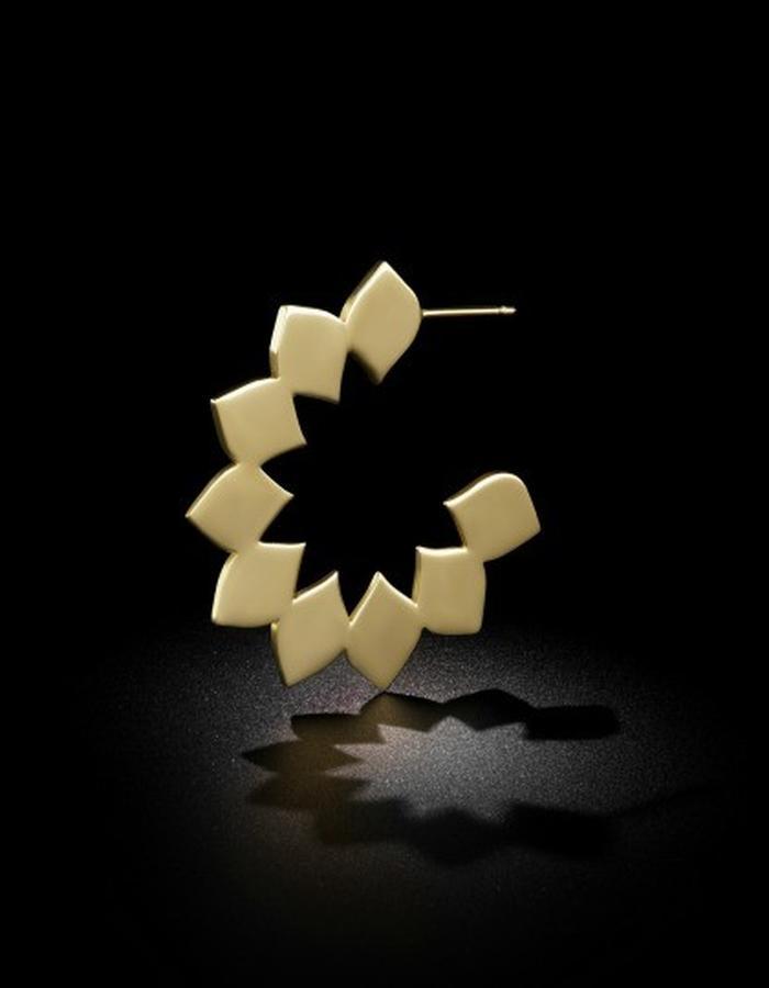Two of Most Fine Jewelry - Closed Loop Hoop Earring