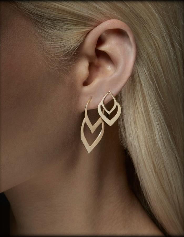 Two of Most Fine Jewelry - Double Loop Earring Set