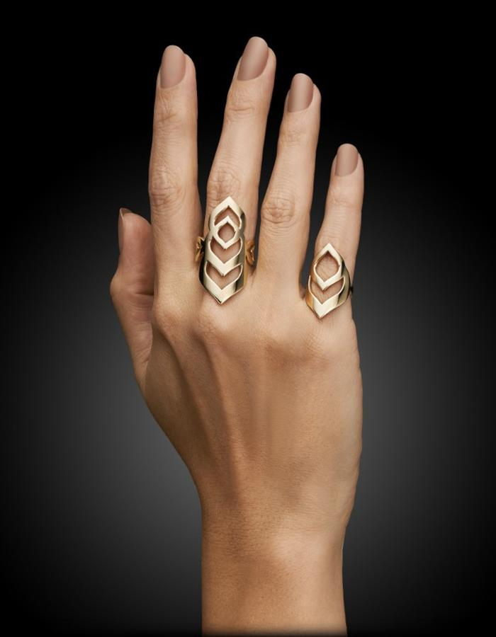 Two of Most Fine Jewelry - Multiloop Ring Set