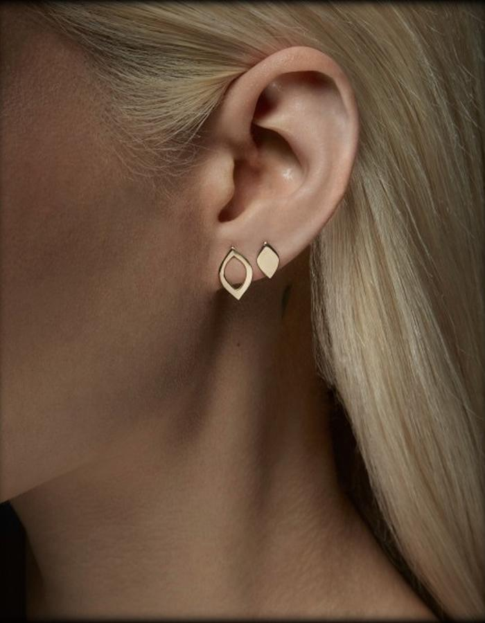 Two of Most Fine Jewelry - Small Loop Earring Set x2