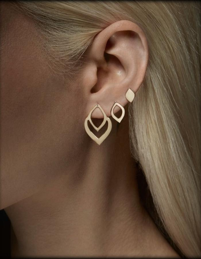 Two of Most Fine Jewelry - Small Loop Earring Set x3