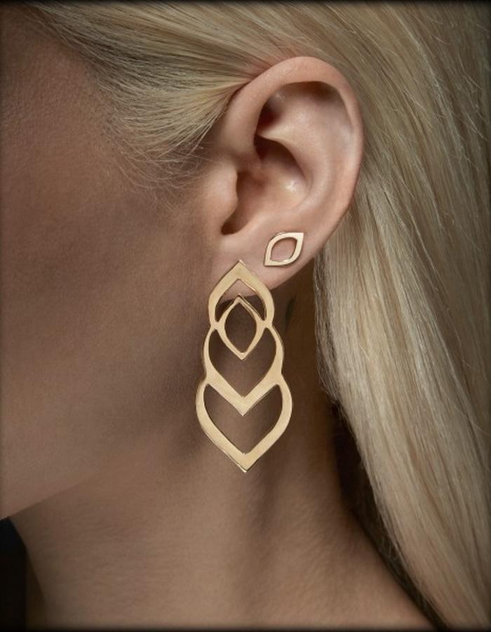 Two of Most Fine Jewelry - Triple Loop Earring Set
