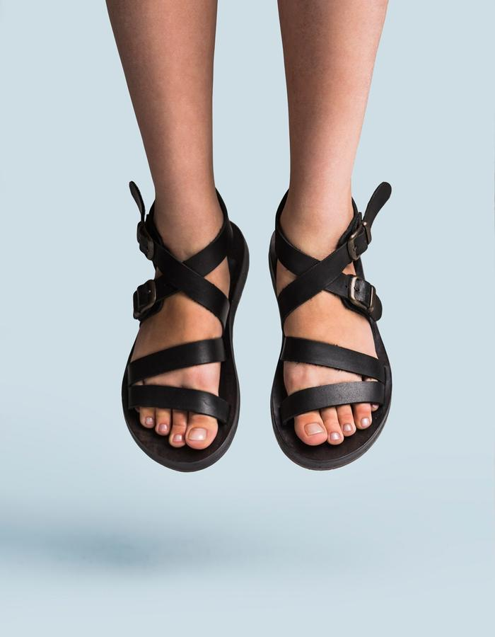Leather handcrafted sandals by FINCH