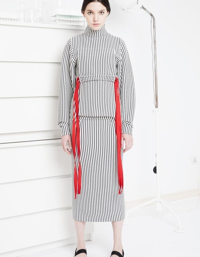 Selene knitted suit