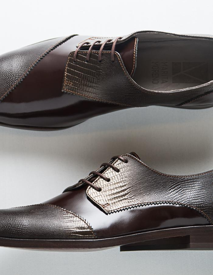 Dali Line Man - Varnish leather, leather sole, leather lining
