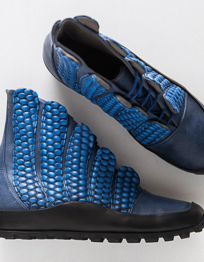 ENKI line unisex - leather and leather lining, rubber sole