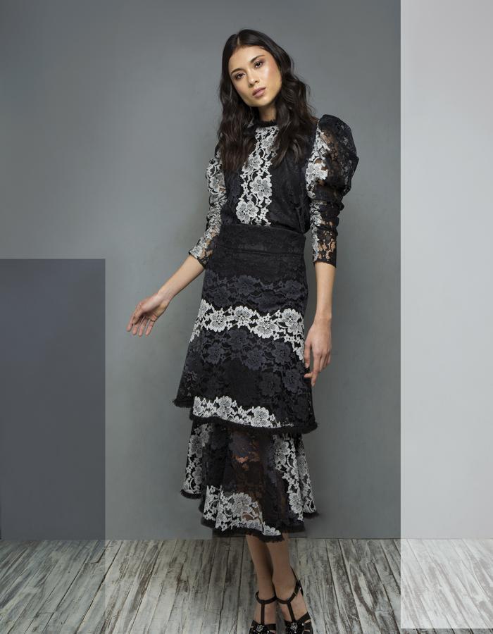 Kate Lace Blouse & Romantic Lace Skirt