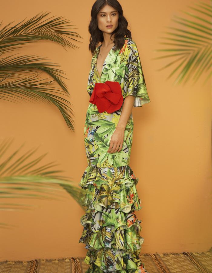 Palmas Seda Gala Dress