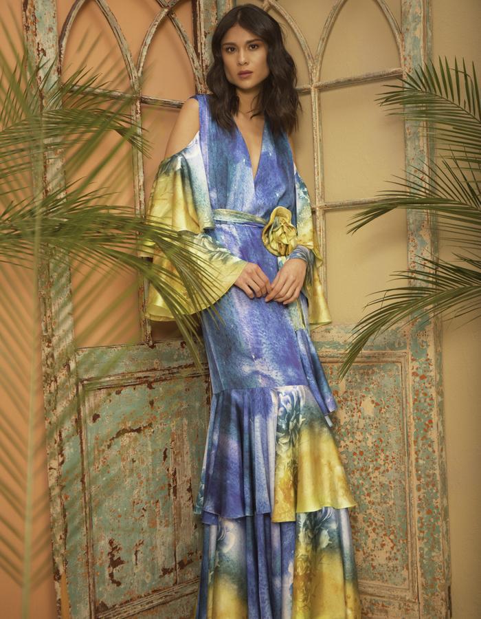 Acquarela Gala Dress
