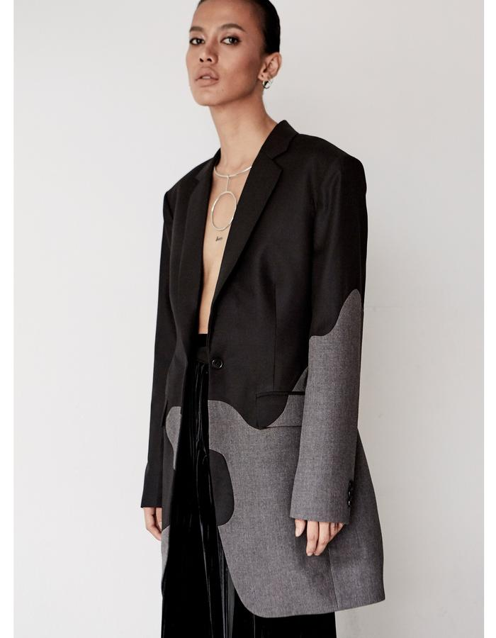 OVERSIZE CUTTING JACKET