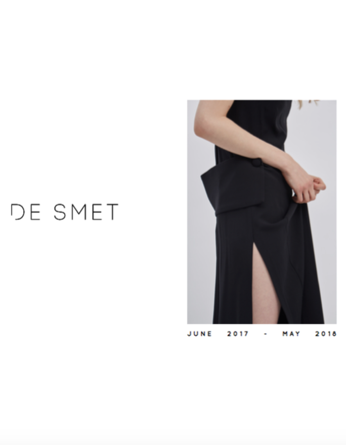 DE SMET | S2 Black dress, Made in New York