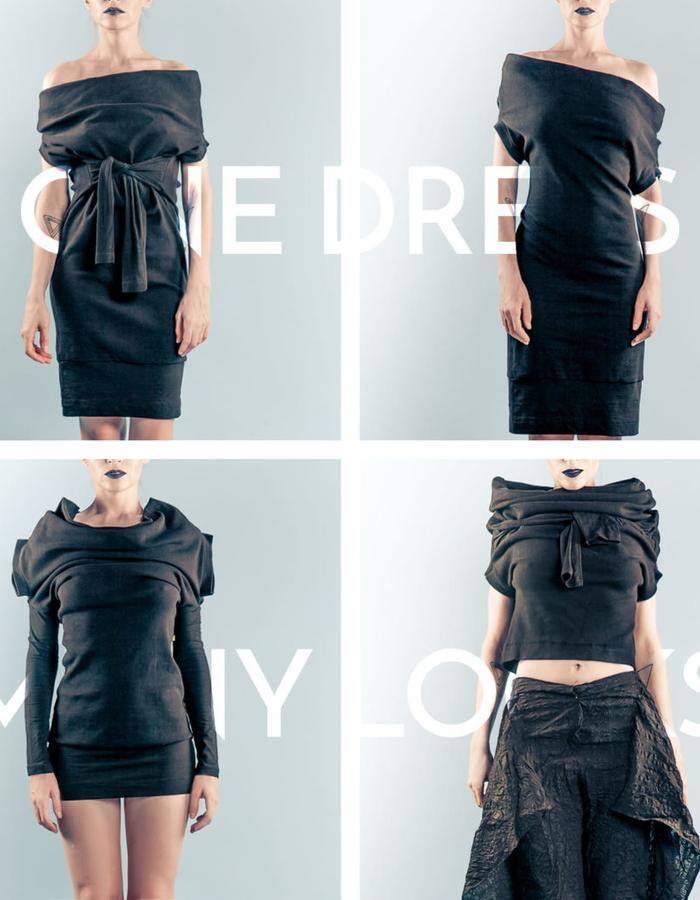 #ManifoldDress Black