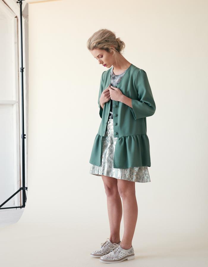Manley /// Ailsa Coat & Parker Shorts