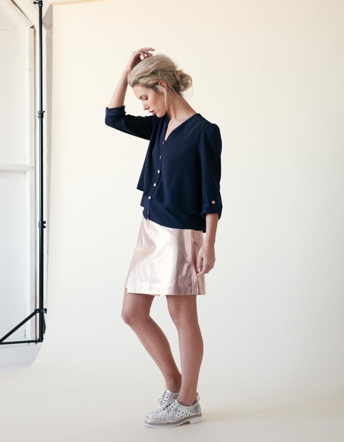 Manley /// Layla Shirt & Parker Mid Skirt