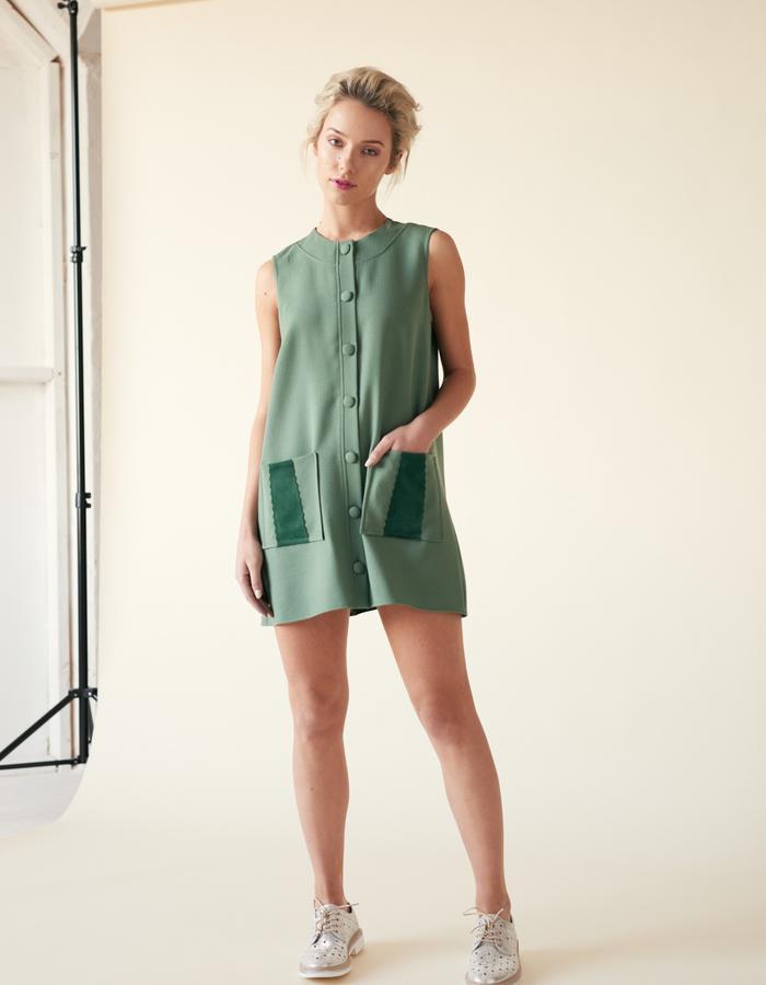 Manley /// Tabby Coat Dress