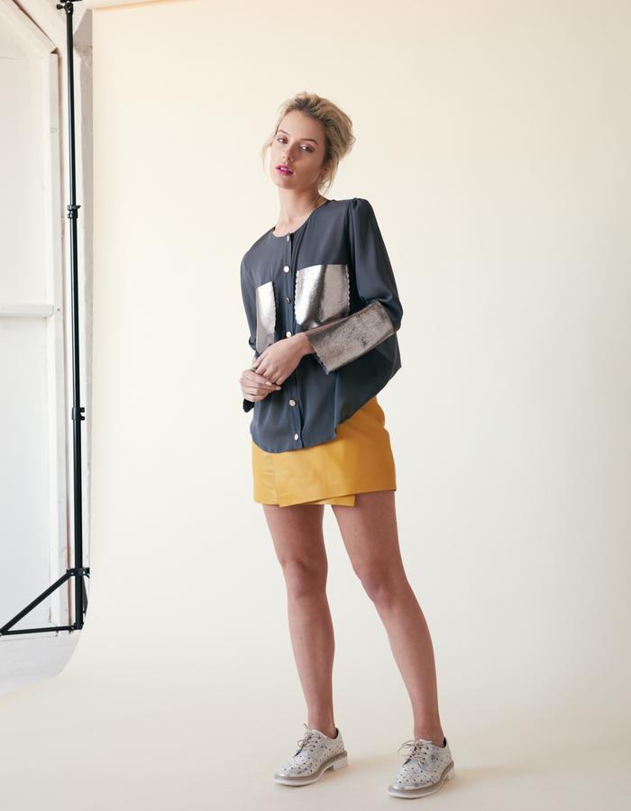 Manley /// Tabby Shirt & Parker Mini Skirt
