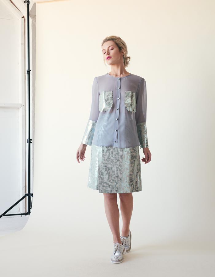 Manley /// Tabby Shirt & Parker Skirt