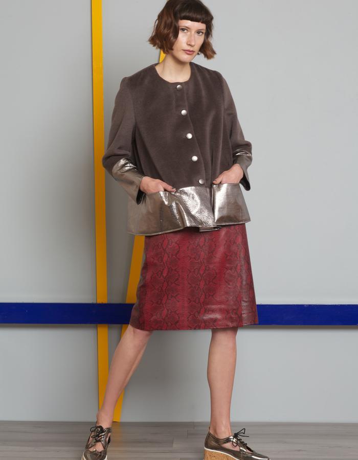Manley AW16 /// Harper Coat & Skyler Skirt