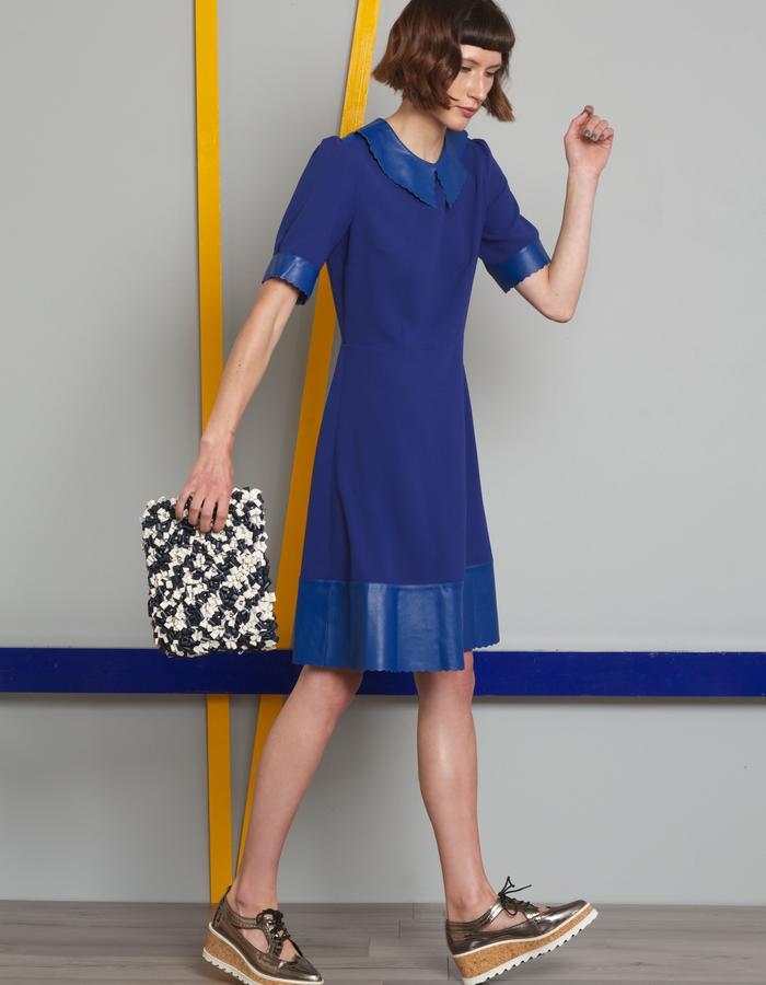 Manley AW16 /// Harper Dress & Maisey Bag