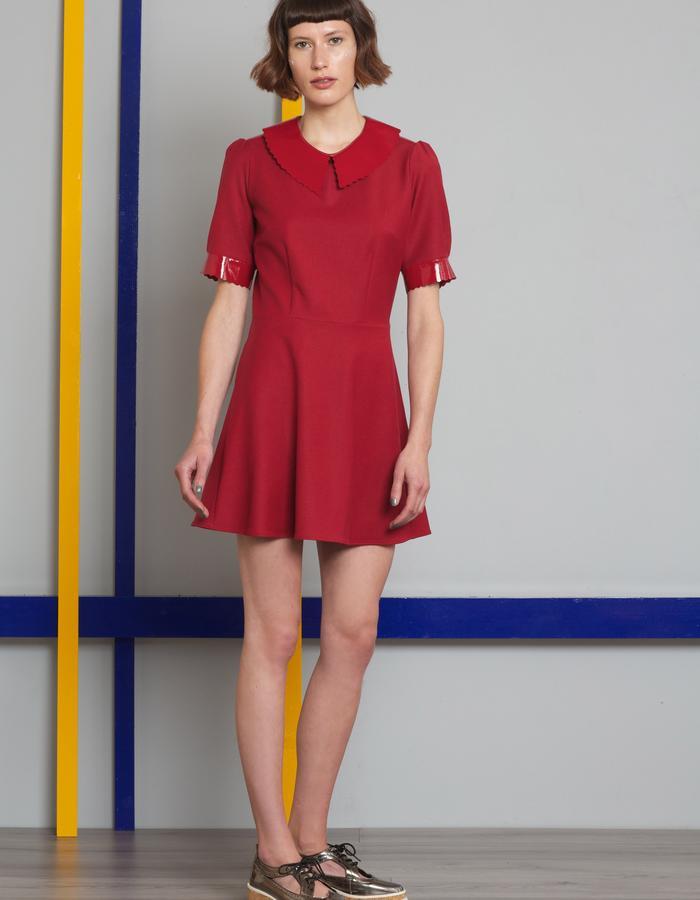 Manley AW16 /// Harper Mini Dress