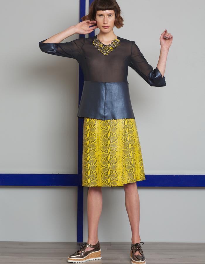 Manley AW16 /// Harper Top & Skyler Skirt
