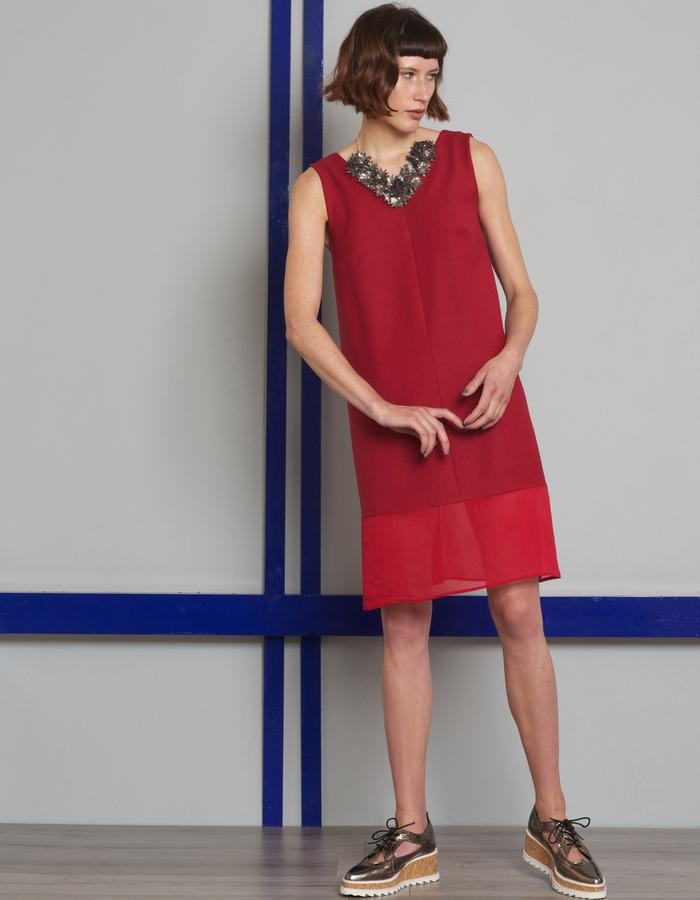 Manley AW16 /// Maisey Dress & Maisey Necklace