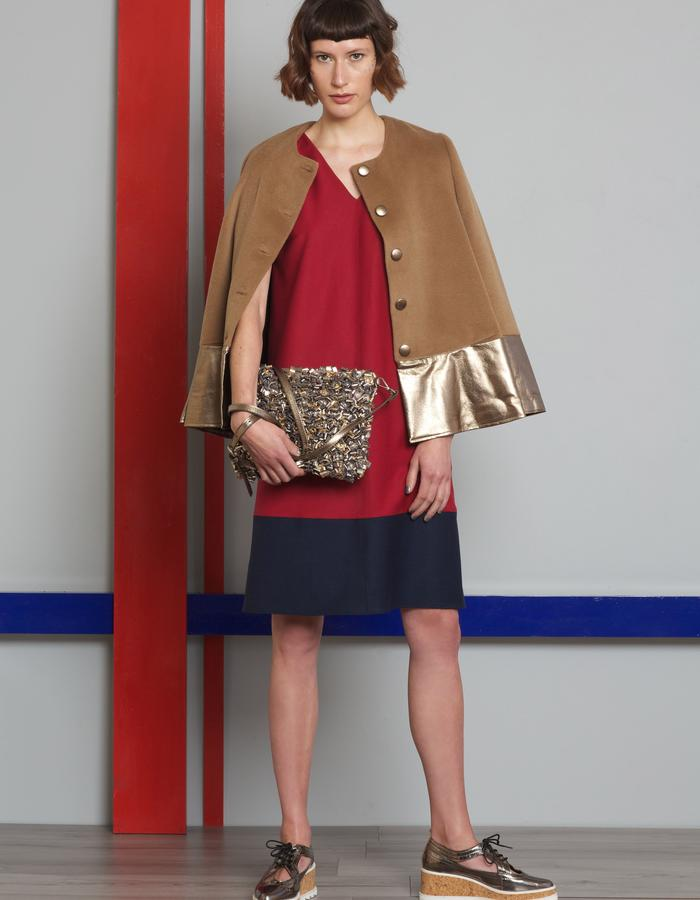 Manley AW16 /// Paige Dress, Harper Coat & Maisey Bag