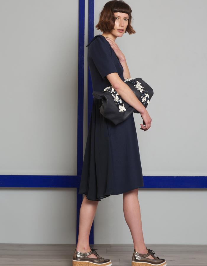 Manley AW16 /// Skyler Dress & Harper Tote Bag