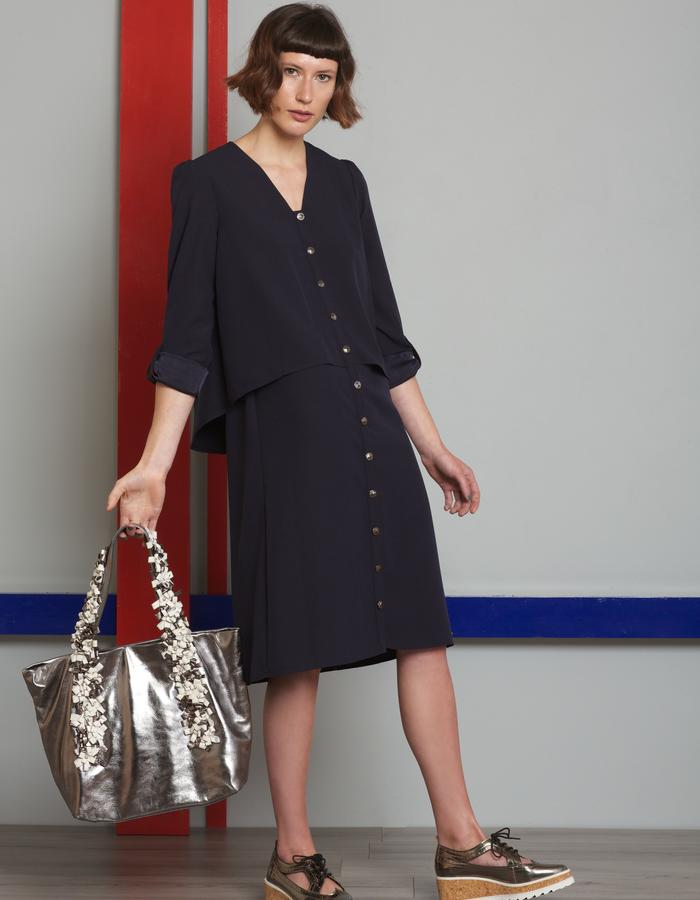 Manley AW16 /// Theo Dress & Harper Tote Bag