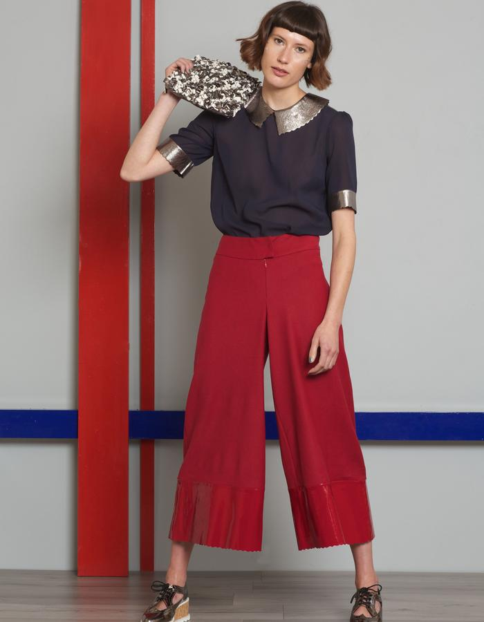 Manley AW16 /// Theo Top, Harper Culottes & Maisey Bag