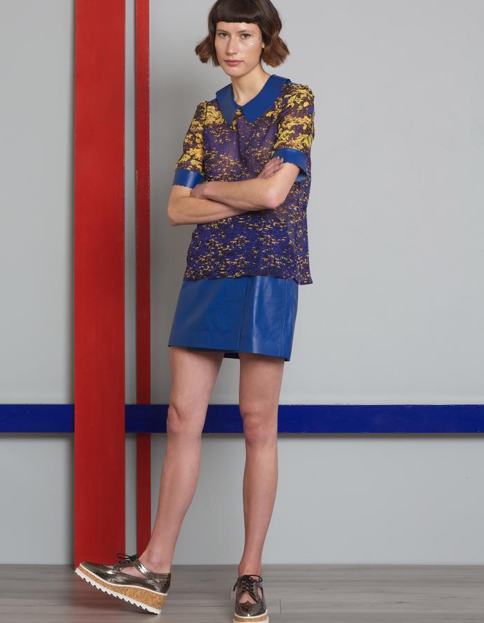 Manley AW16 /// Theo Top & Skyler Mini Skirt