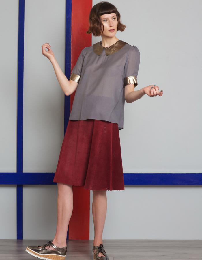 Manley AW16 /// Theo Top & Theo Skirt