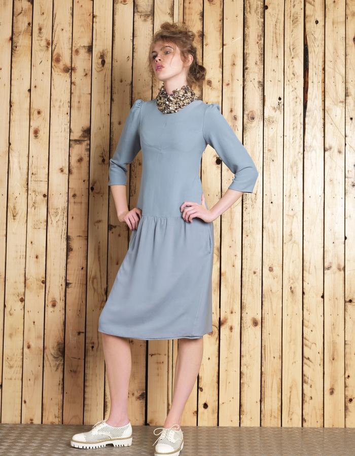Manley SS16 /// Cara Dress & Cara Collar