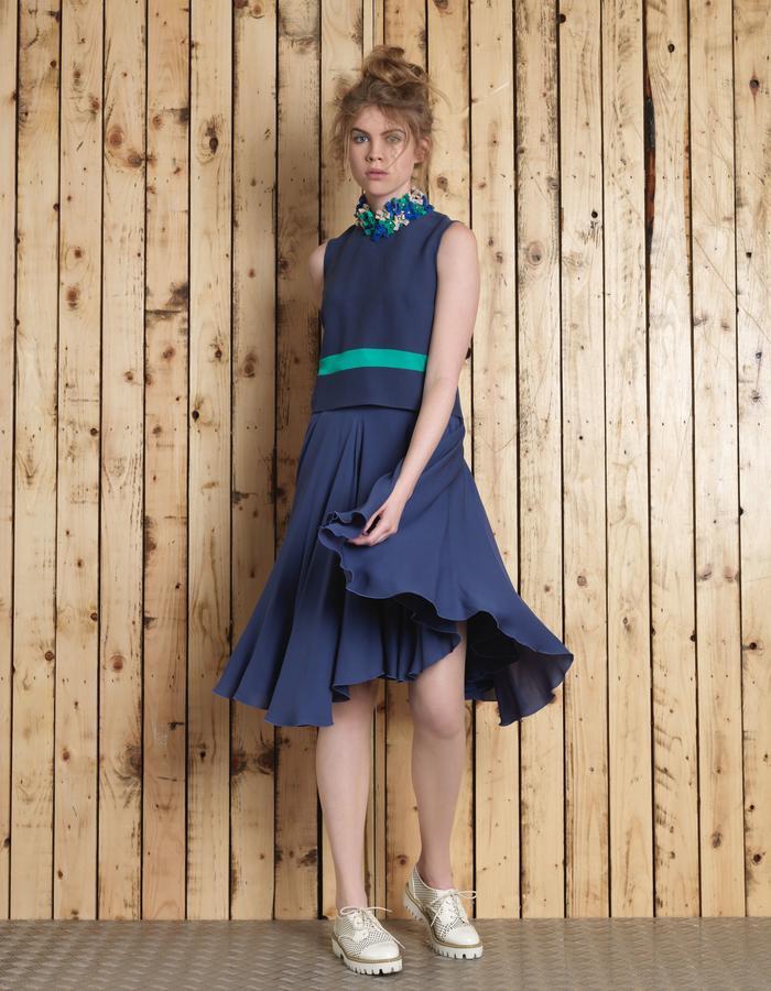 Manley SS16 /// Lana Crop & Cara Skirt